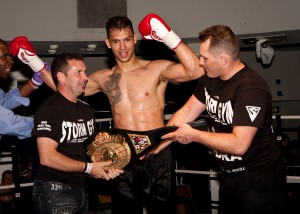 Amir & Paul crown the first world title under New Storm Gym