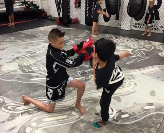 Kids Self Defence Summer Camp 2016
